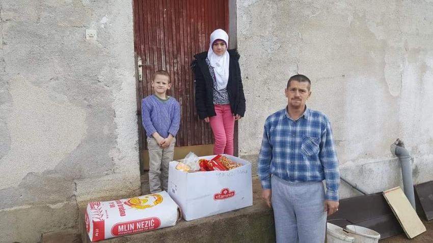 Saradnja humanitarnog fonda Medžlisa IZ Bihać i džemata Luzern