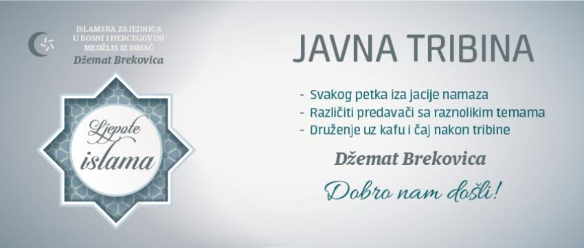 """Najava nove sezone tribina """"Ljepote islama"""" u džematu Brekovica"""