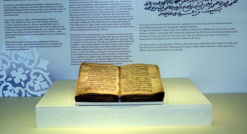 Turska: U muzeju izložen Kur'an star osam stoljeća