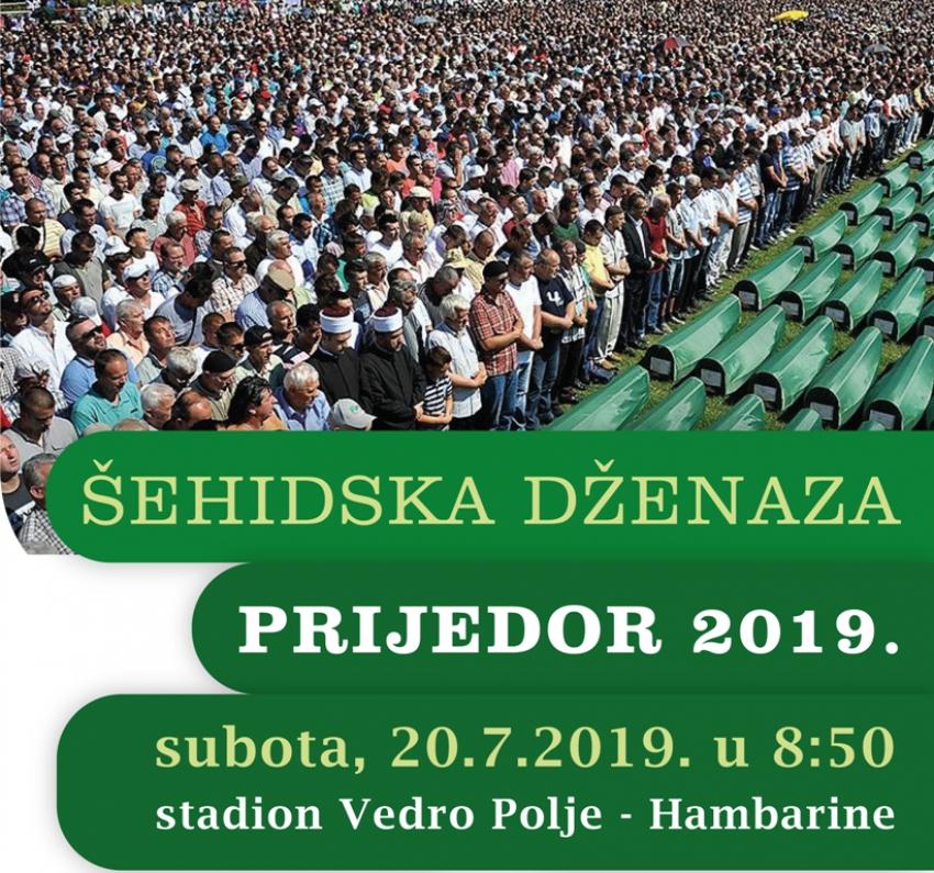 Dženaza 86 nevino ubijenih građana Prijedora i Kozarca 20. jula