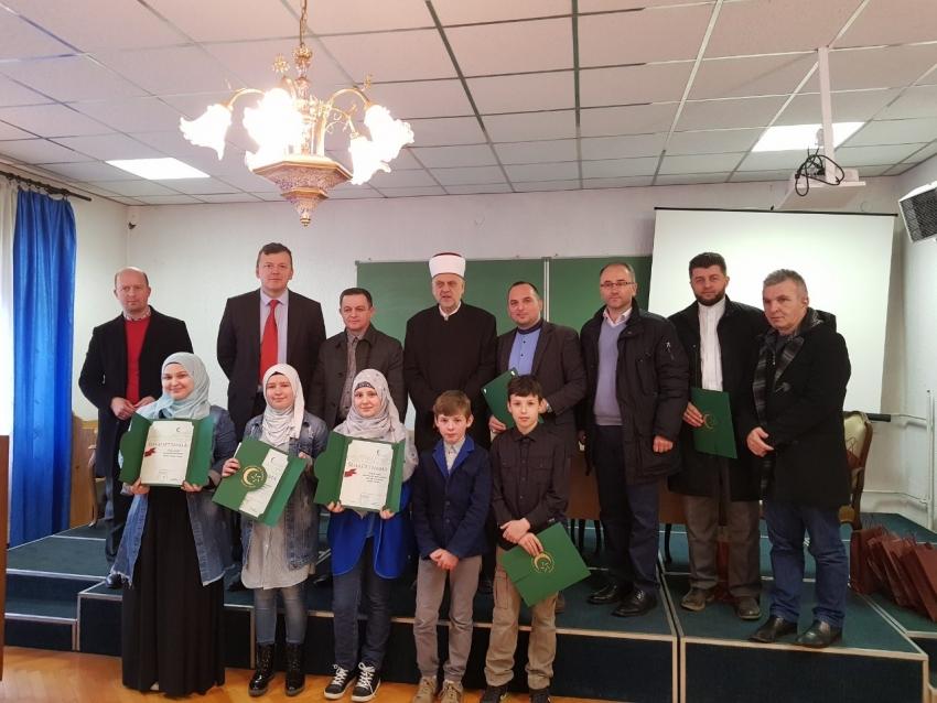 Održano mektebsko takmičenje Bihaćkog muftijstva
