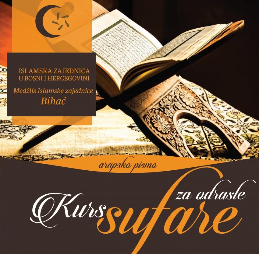 Kurs arapskog pisma (sufare) u prostorijama Medžlisa IZ Bihać